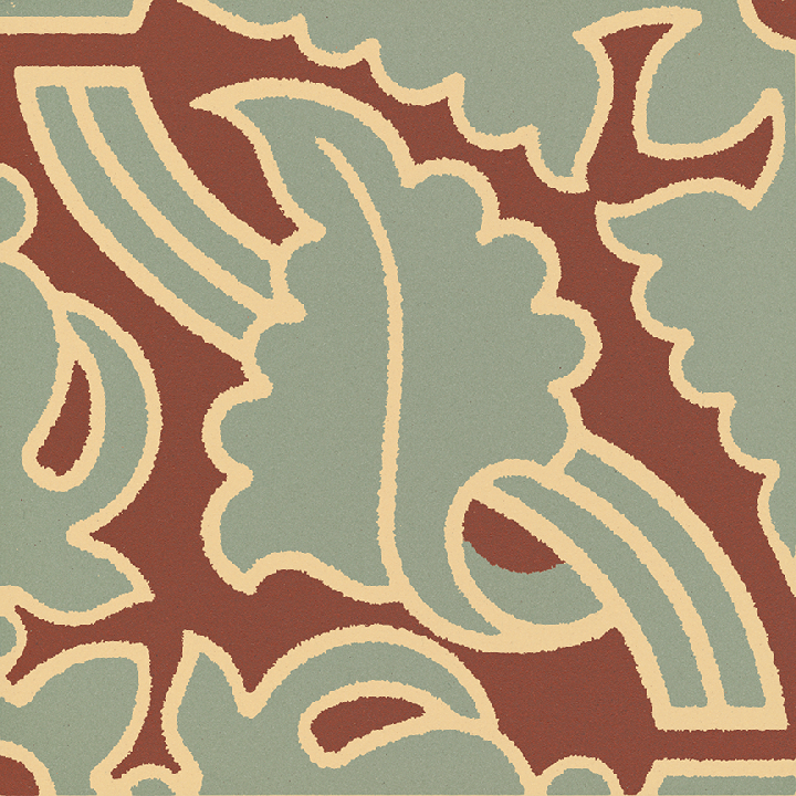 Steinzeugfliese SF 331L I, Ornament