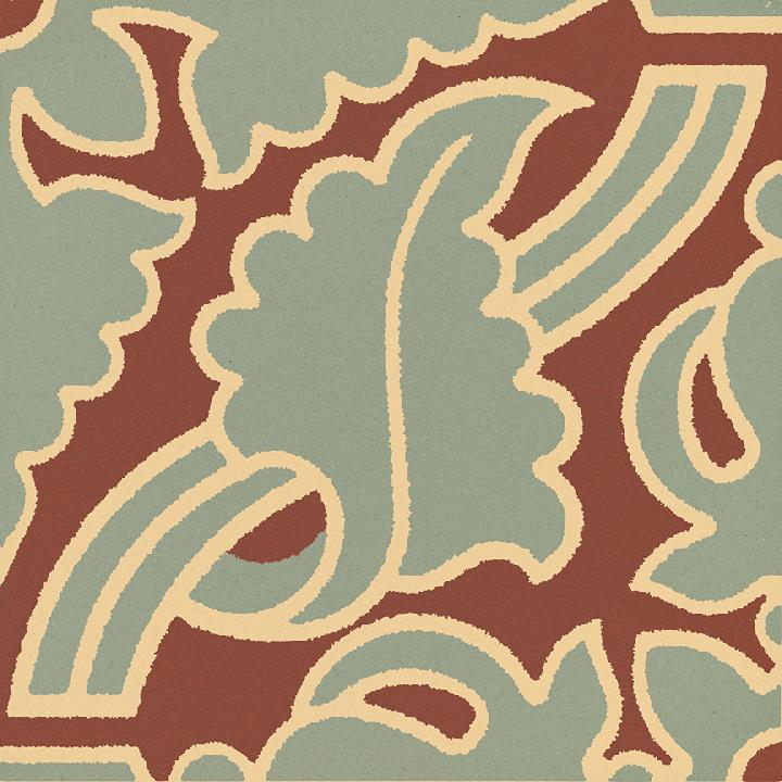 Steinzeugfliese SF 331R I, Ornament