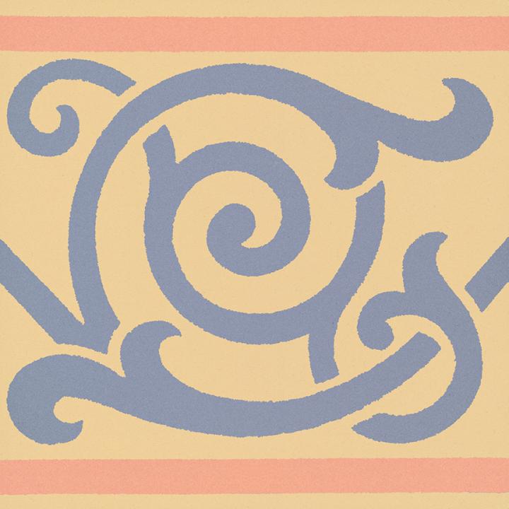 Steinzeugfliese SF 333 N, Ornament