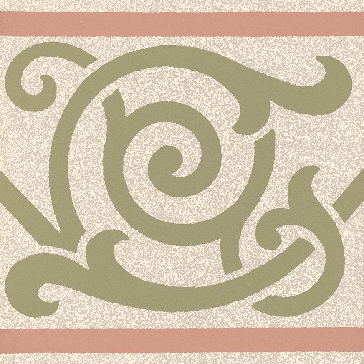 Steinzeugfliese SF 333 P, Ornament