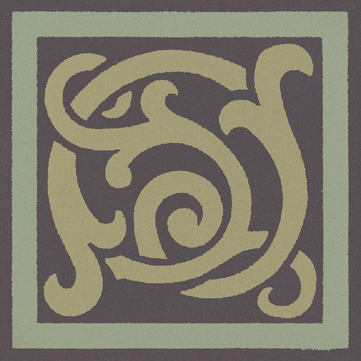 Steinzeugfliese SF 333 J e, Ornament