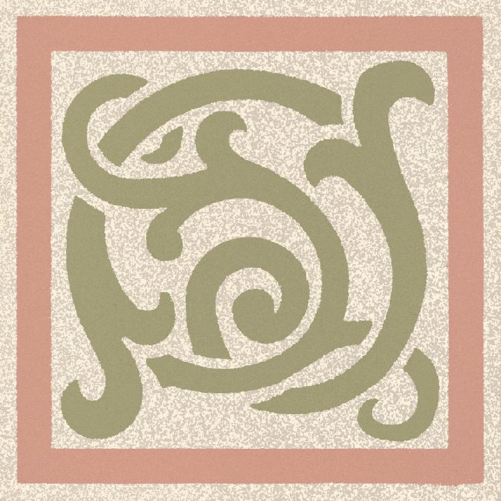 Stoneware tile SF 333 P e, Historic Stoneware