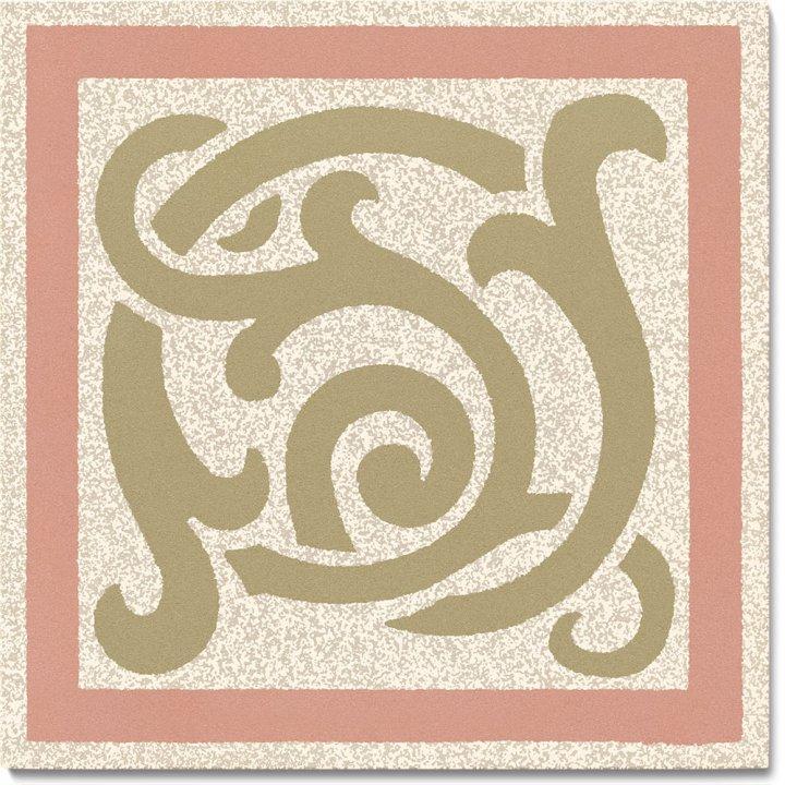 Steinzeugfliese SF 333 P e, Ornament