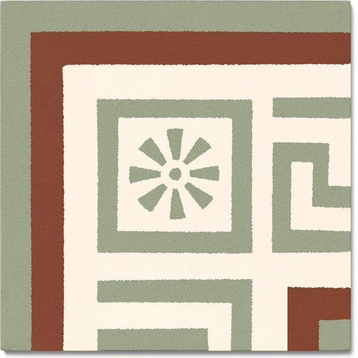 Stoneware tile SF 357 S e, Historic Stoneware