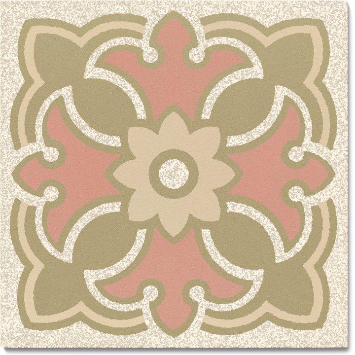 Steinzeugfliese SF 420 P, Ornament