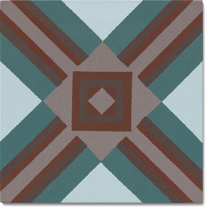 Stoneware tile SF 559 R, Historic Stoneware