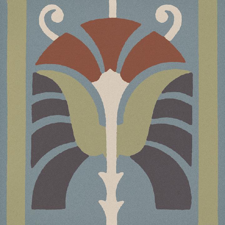 Steinzeugfliese SF 562 L, Ornament