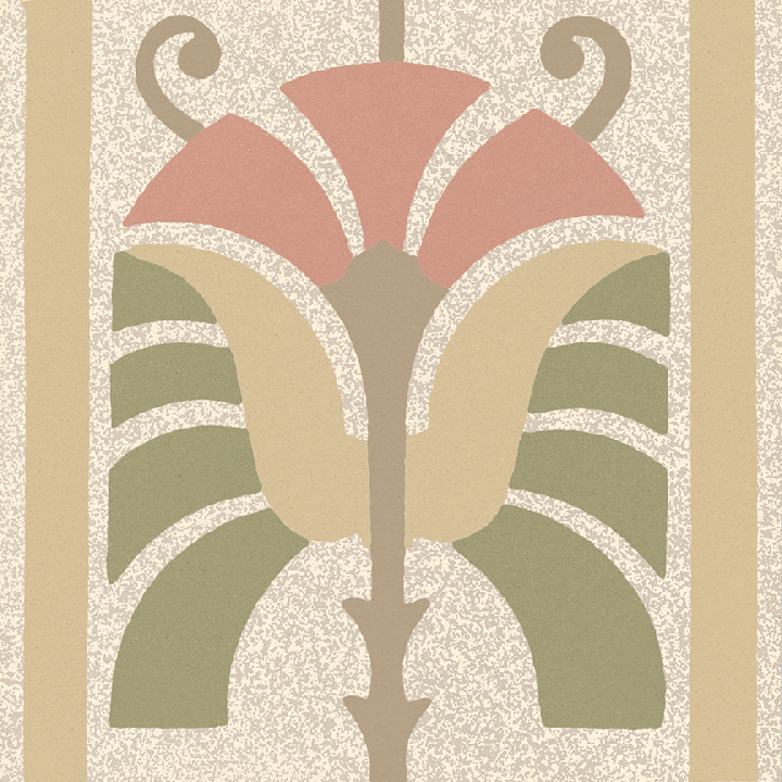 Carreau en grès SF 562 P, Ornement