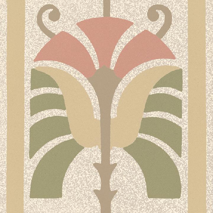 Steinzeugfliese SF 562 P, Ornament