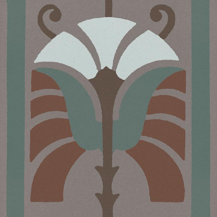 Steinzeugfliese SF 562 R, Ornament