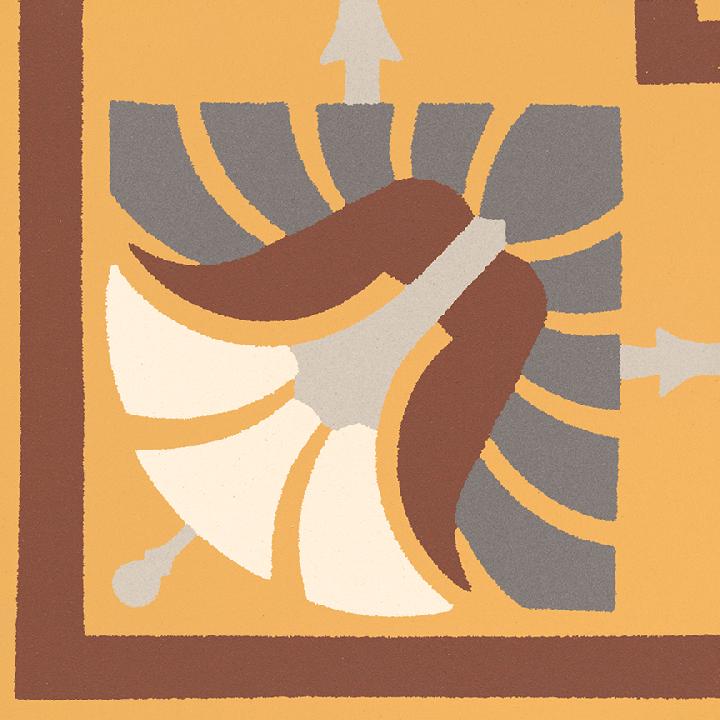 Steinzeugfliese SF 562 K e, Ornament