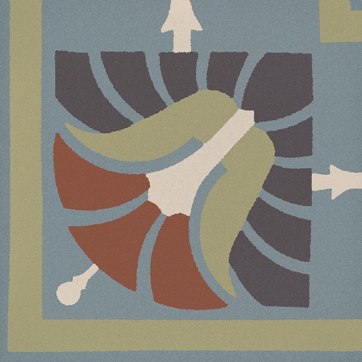 Steinzeugfliese SF 562 L e, Ornament