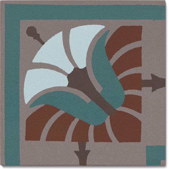 Stoneware tile SF 562 R e, Historic Stoneware