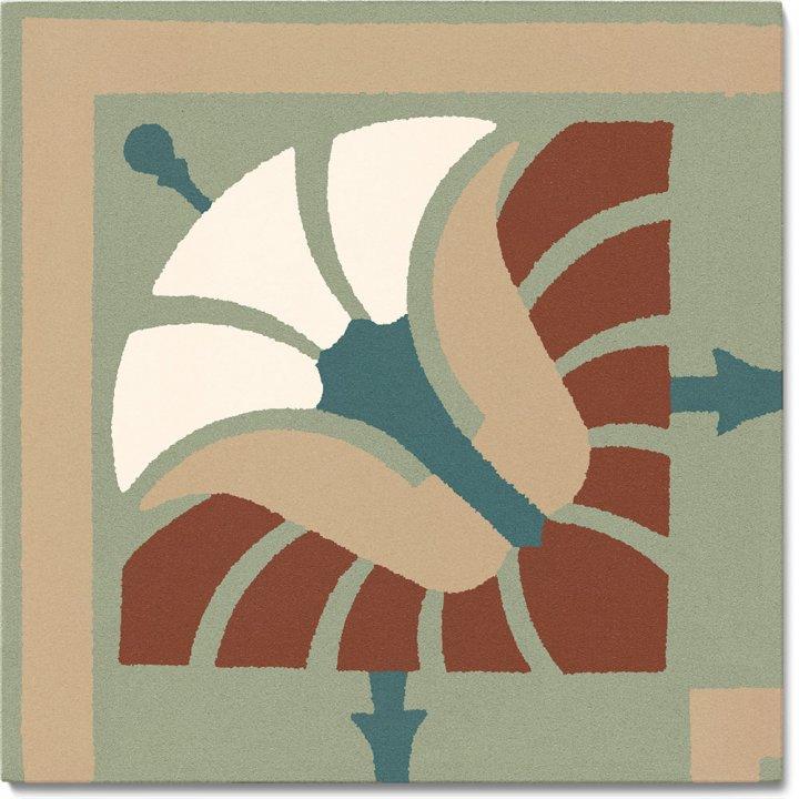 Steinzeugfliese SF 562 S e, Ornament