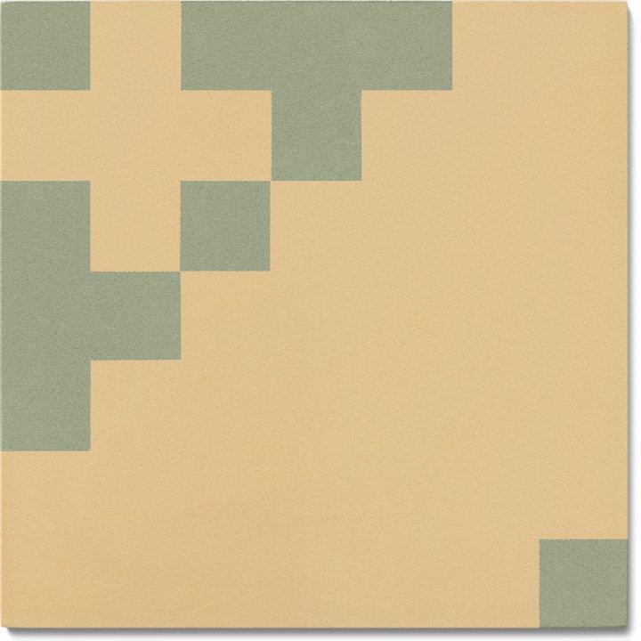 Carreau en grès SF TG 7201 J b, Ornement