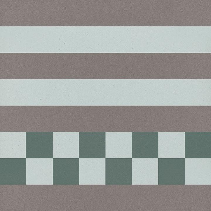 Carreau en grès SF TG 8303 R, Ornement