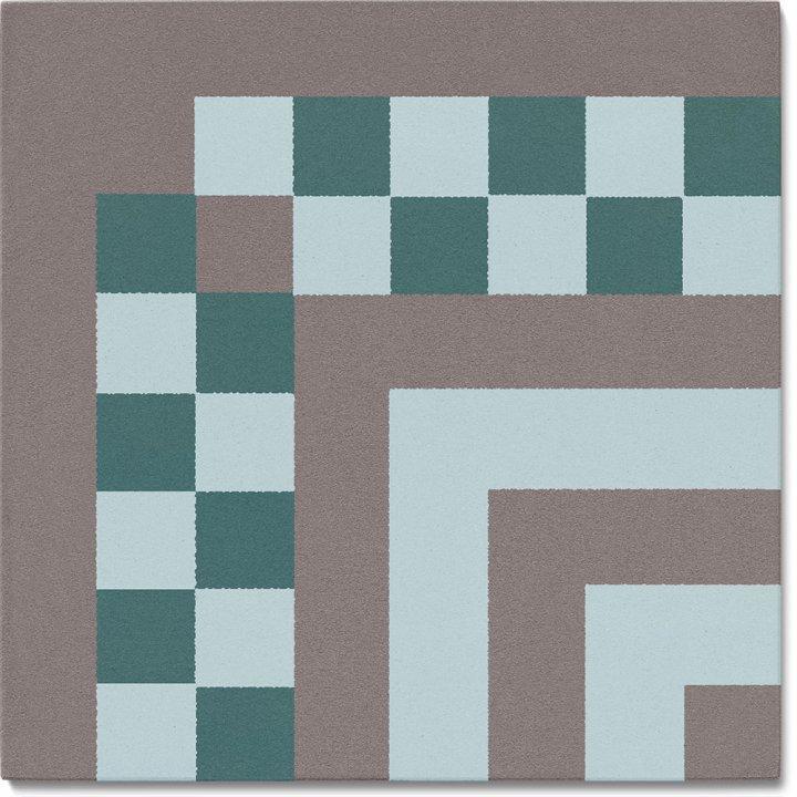 Carreau en grès SF TG 8303 R e, Ornement