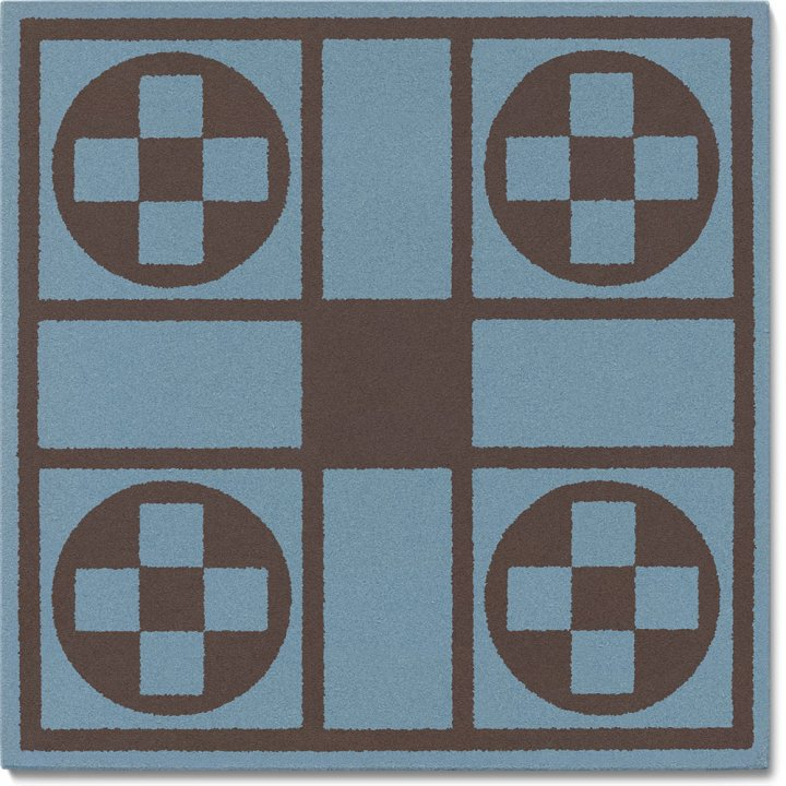 Stoneware tile SF 257 A, Historic Stoneware