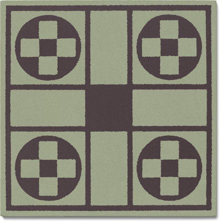 Carreau en grès SF 257 J, Ornement