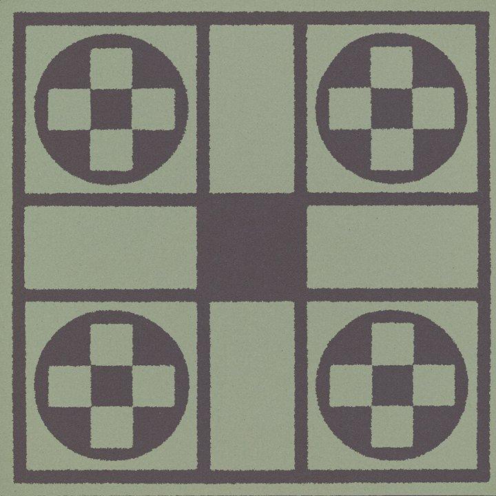 Stoneware tile SF 257 J, Historic Stoneware