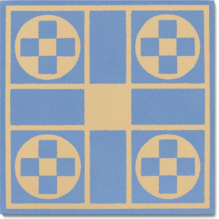 Steinzeugfliese SF 257 N, Ornament