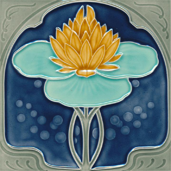 Carreau Art Nouveau F 184 V2