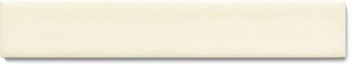 Einfarbig glasierte Wandfliese  F 10.47 Ri, Cremeweiss deckend, Riemchen