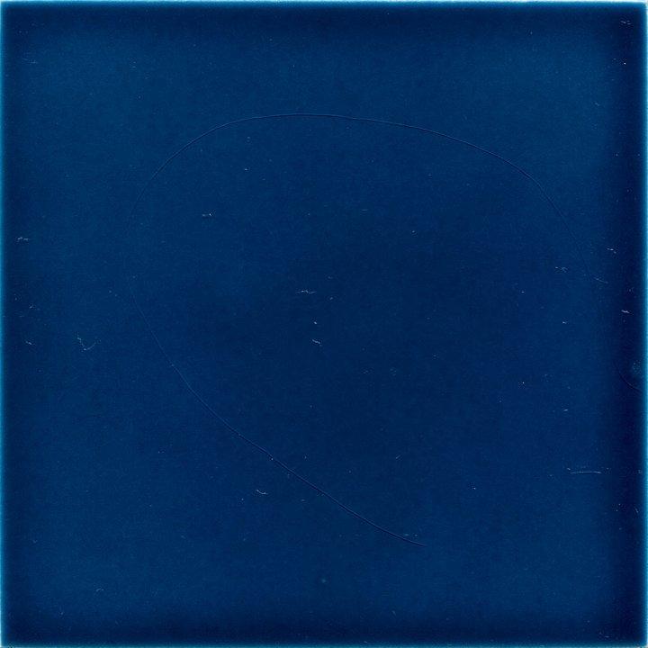 Einfarbig glasierte Wandfliese in blau, 2.Wahl EPW F 10.653  ( 12,5 m²)