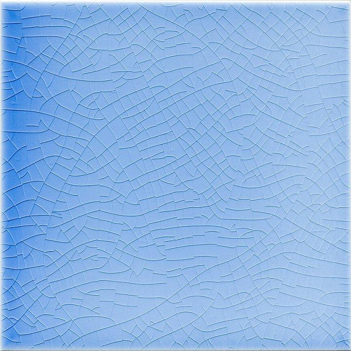 Einfarbig glasierte Wandfliese , Farbe:hellblau ohne Fehler , 1A Ware  EPW 67 ( 2,25m²)