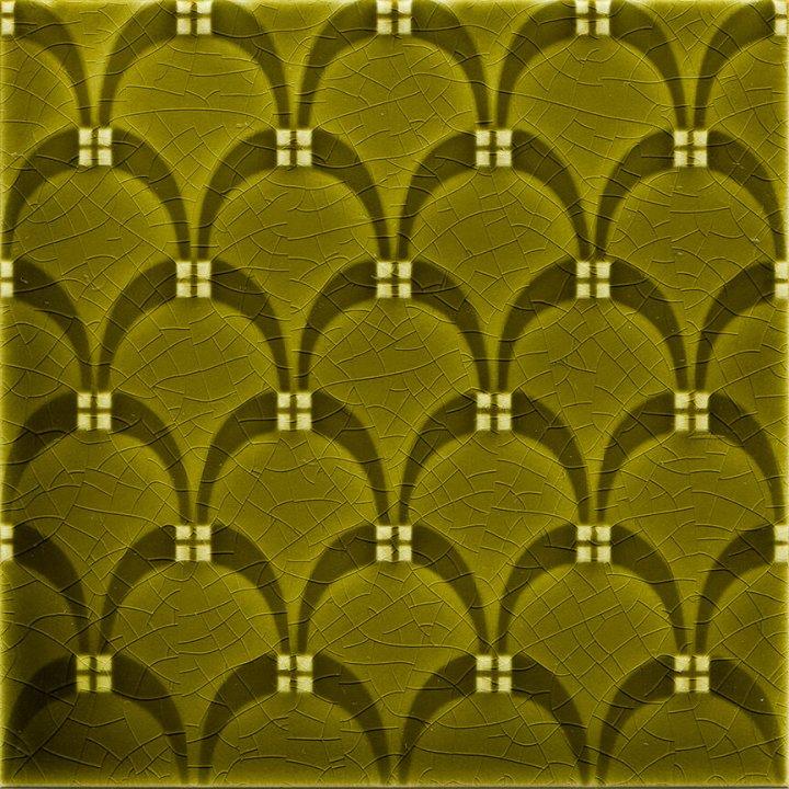 Dekorfliese, Farbe olivgrün EPW 69 (2 m²)
