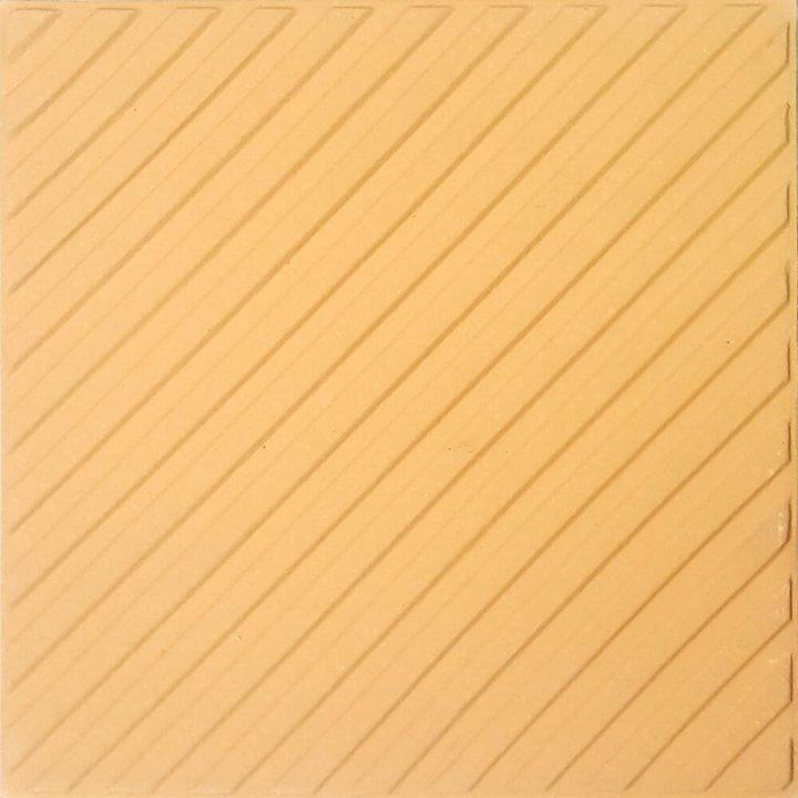 Bodenfliesen, Restposten Stufenfliesen intensivgelb mit Refief BFE SF1.12 (6m²)