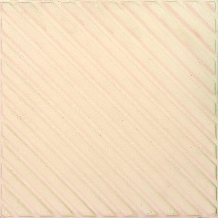 Bodenfliesen, Restposten Stufenfliesen cremeweiß mit Refief BFE SF1.1 (ca. 3,2 m²)