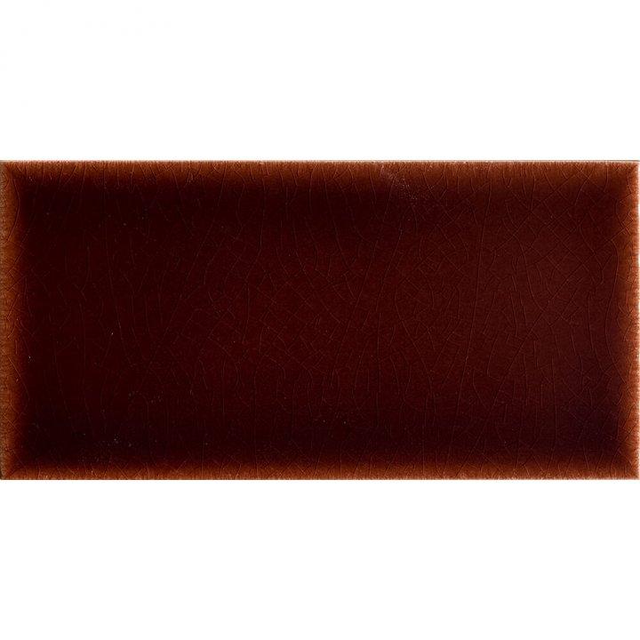 Einfarbige Halbfliesen in dunkelbraun  EPW F10.18H (ca. 1,87m²)