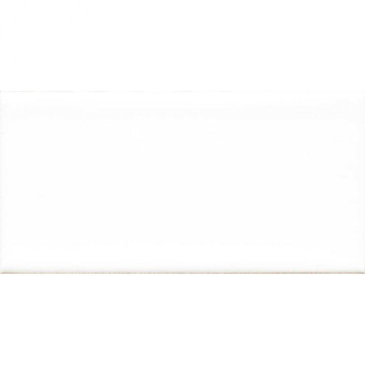 Einfarbige Halbfliesen in weiß  EPW F10.39 H (1,13 m²)