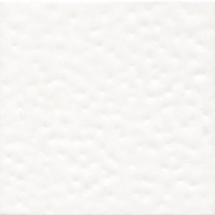 Wandfliese in Weiß Oberfläche mit Orangenhautoptik  EPW 70 (9 m²)