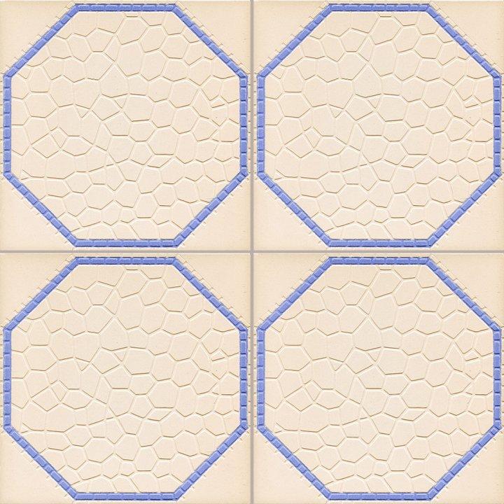Bodenfliesen, Restposten Relieffliesen beige  BFE RF4   (ca. 2,34 m²)