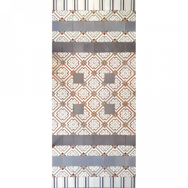 Bodenfliesen, Fliesenteppich PMS 484  PMS 484  (4,16 m²)