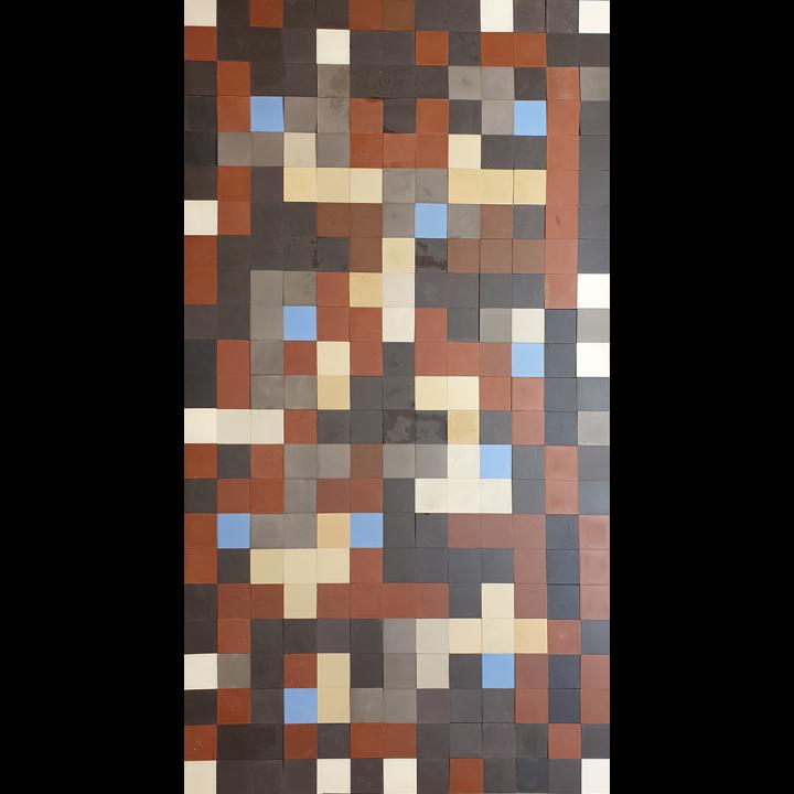 Bodenfliesen, Fliesenteppich PMS 488  PMS 488  (7,65 m²)