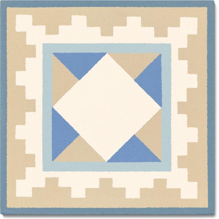 Stoneware tile SF 503 O e , Historic Stoneware