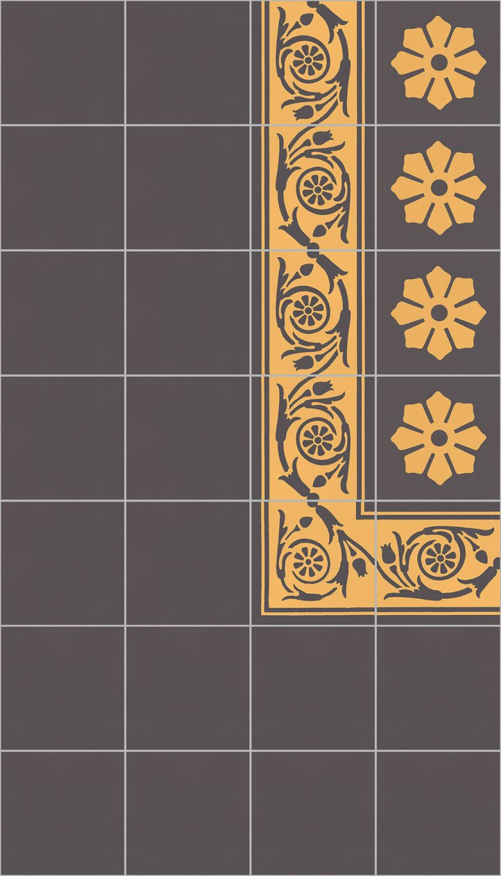 Carreaux pour sol Carreaux en grès - monochromes Calepinage SF 10.11 rand