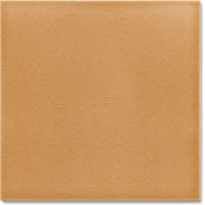 Einfarbig glasierte Wandfliese F 10.27, Sandbeige