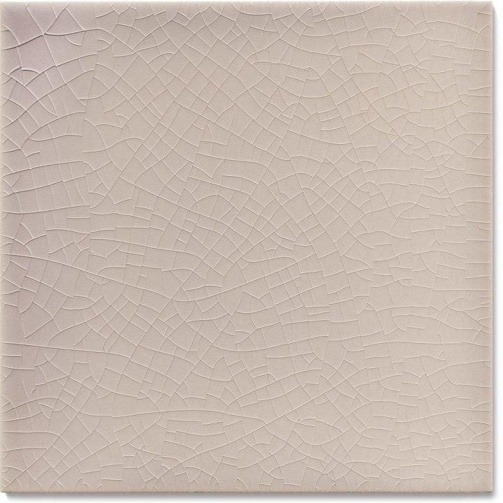 Plain glazed wall tile F 10.31, Hellgrau-violett