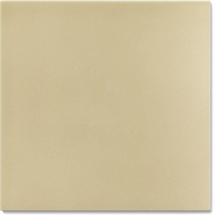 Einfarbig glasierte Wandfliese F 10.60, Pastell grau