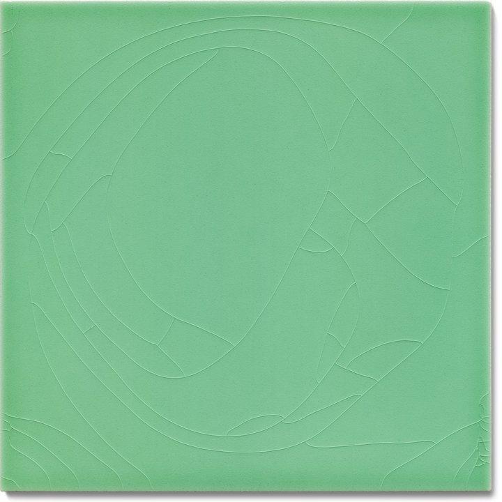 Carreau de mur lisses émaillés  F 10.62, Pastell grün