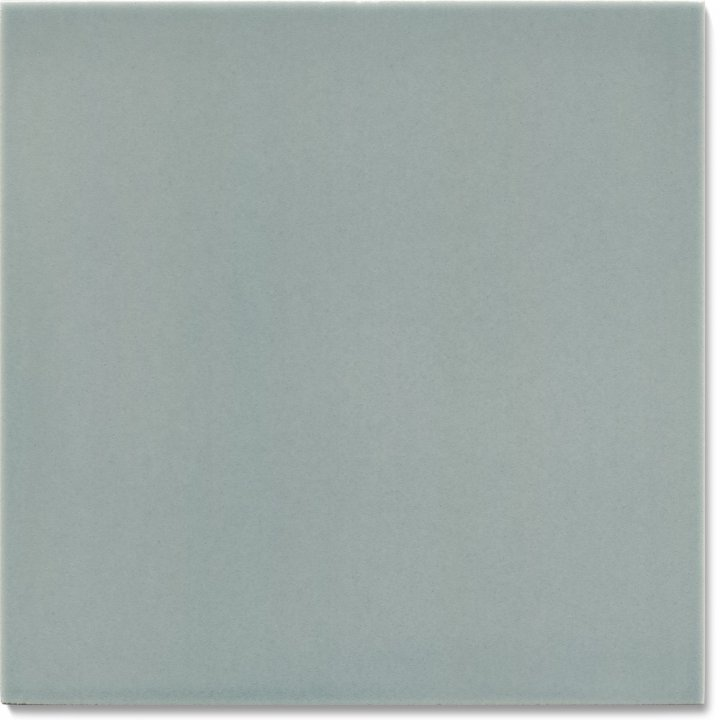 Plain glazed wall tile F 10.65, Graublau dunkel