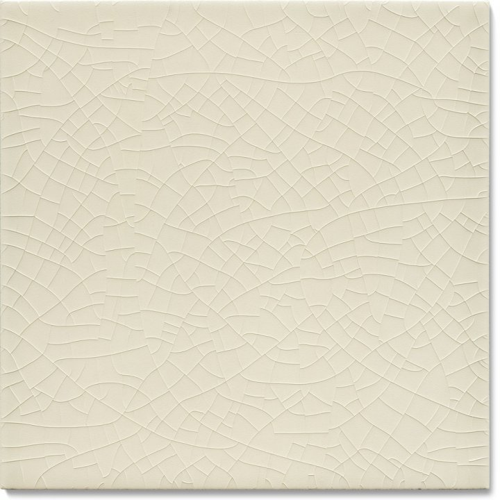 Plain glazed wall tile F 10.519, Blassgrau kalt