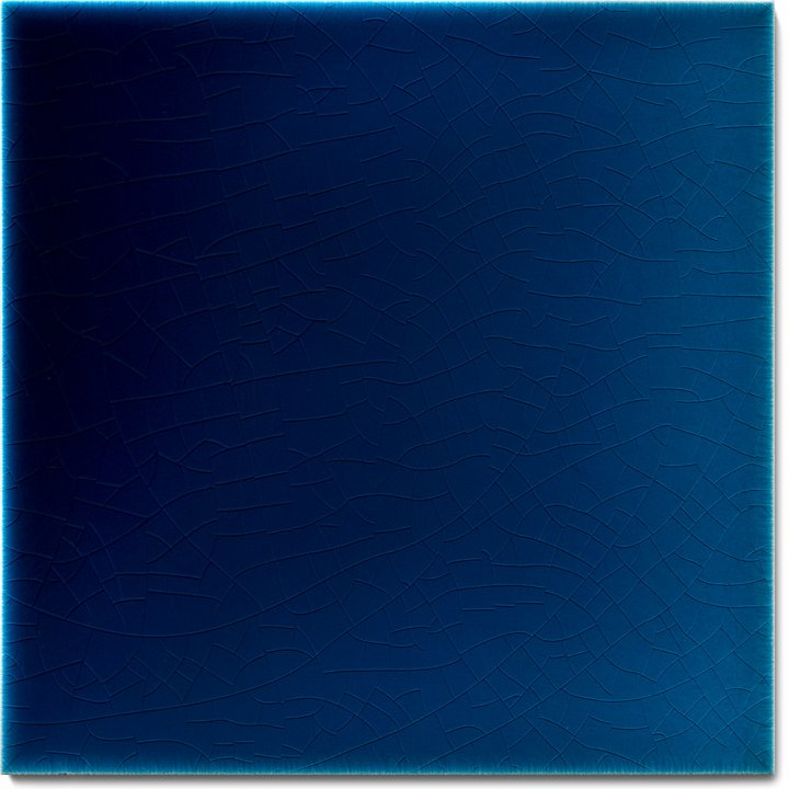 Plain glazed wall tile F 10.620, Blau
