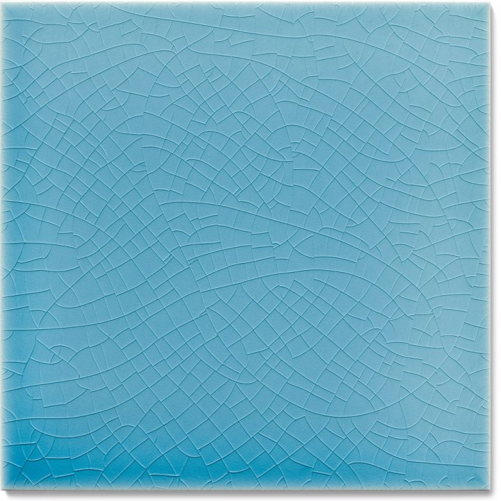 Plain glazed wall tile F 10.622, Blaugrau hell