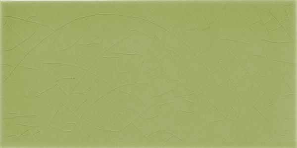 Plain glazed wall tile F 10.13 H, Graugrün, Halbformat