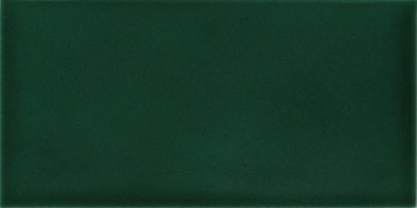 Plain glazed wall tile F 10.35 H, Blaugrün, Halbformat